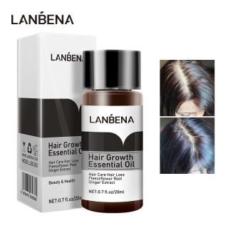 Lanbena Tinh Dầu Kích Thích Mọc Tóc Dầu Mọc Tóc Dưỡng Tóc Dài Mượt Chống Gãy Rụng Hair Grower Hair Treatment thumbnail