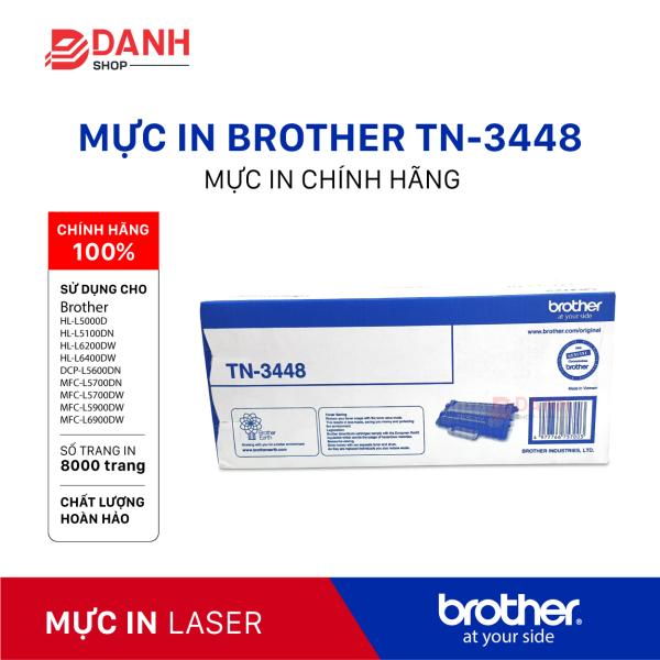 Bảng giá Hộp mực máy in laser Brother TN-3448 cho máy HL-5100DN/6400DW/ MFC-L5700DN/5900DW - 8.000 trang CHÍNH HÃNG Phong Vũ