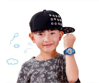 [MIỄN PHÍ GIAO HÀNG] Đồng hồ trẻ em đa chức năng kết hợp hiệu ứng đèn Lex 7 màu chính hãng Coobos 2