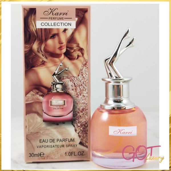 Nước hoa KARRI nội địa Trung 30ml lâu bay mùi hương thơm tỏa dễ chịu tinh tế cao cấp