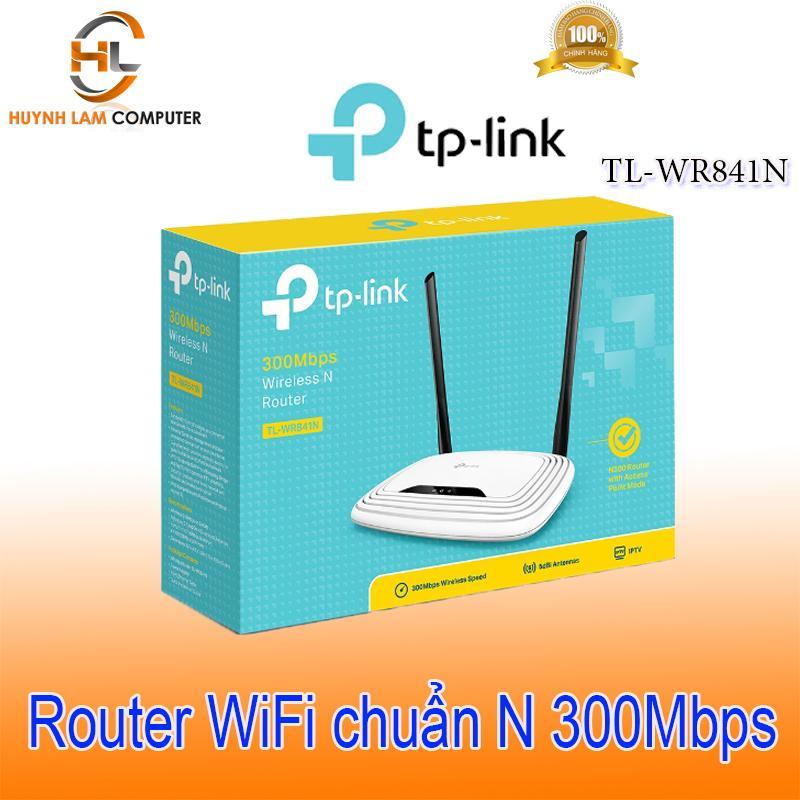 Bộ phát wifi - Router WiFi TPLink 841N 5 port tốc độ 300Mbps FPT phân phối