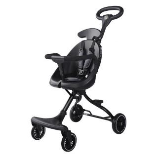 Xe đẩy đi bộ 2 chiểu Baobaohao V3 cho bé gấp gọn (Đen) thumbnail