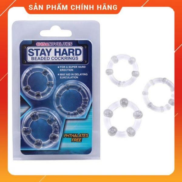 Bộ ba vòng bi silicon cao cấp dành cho nam giới