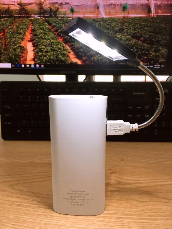 Bảng giá Đèn led Usb siêu sáng 6 bóng cho laptop,máy tính,pin dự phòng và các nguồn USB Phong Vũ