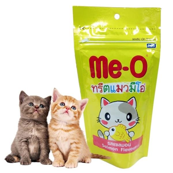 Bánh thưởng dạng hạt cho mèo ME-O 50g 3 vị (cá hồi, gà và trứng, tôm)