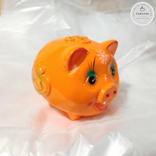 Lợn đất tiết kiệm đựng tiền size NHỎ cute đẹp giá rẻ TABILINE LD01 6
