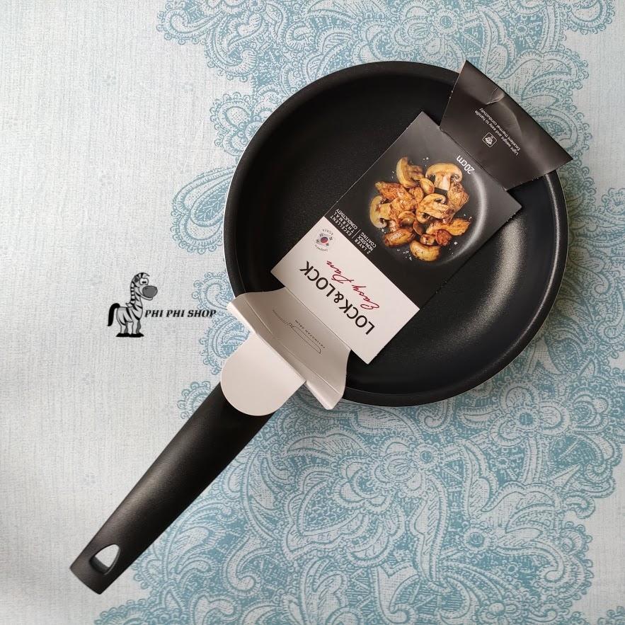 Chảo chống dính Lock & Lock chảo chiên trứng ốp la 20cm LEY1203 không sử dụng bếp từ