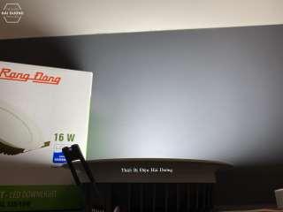 Combo bộ 3 đèn led downlight rạng đông âm trần d at04l 155 / 16w - 25w - bảo hành 2 năm - hình 4