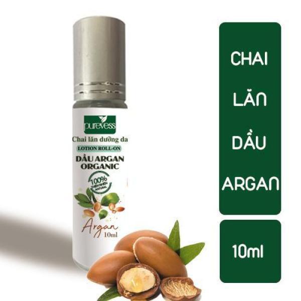 Chai Lăn Dầu Argan PUREVESS ( 10ml ) | Giúp giảm da khô, nếp nhăn và viêm da. tốt nhất