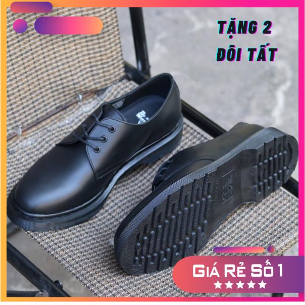 Giày Da Docs Marten Mono Full Black , hàng nhập khẩu Thái Lan full box , da bò cao cấp, bảo hành 24 tháng, Mã SP DR1461 giá rẻ