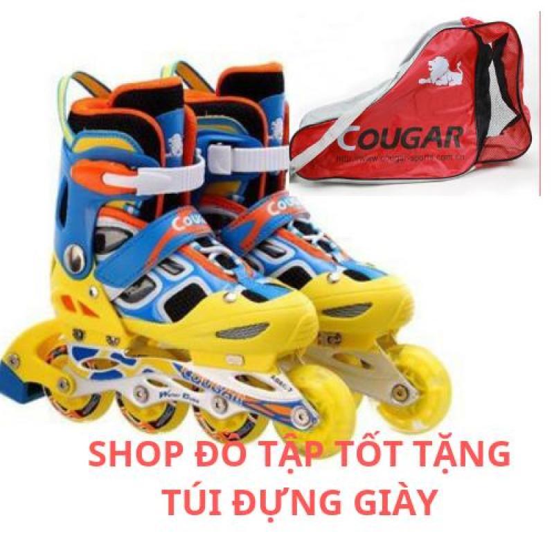 Phân phối Giày trượt Patin Cougar có đèn 835LSG cao cấp TẶNG TÚI ĐỰNG GIÀY COUGAR 5 màu cho bạn - ĐỒ TÂP TỐT