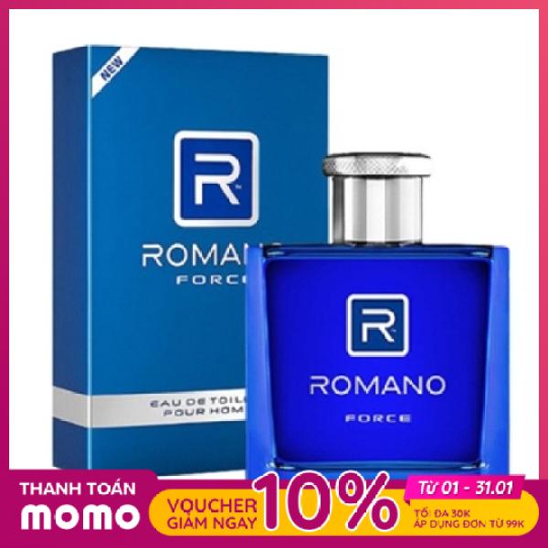 Nước hoa cao cấp Romano Force mạnh mẽ tự tin hương nam tính 50ml