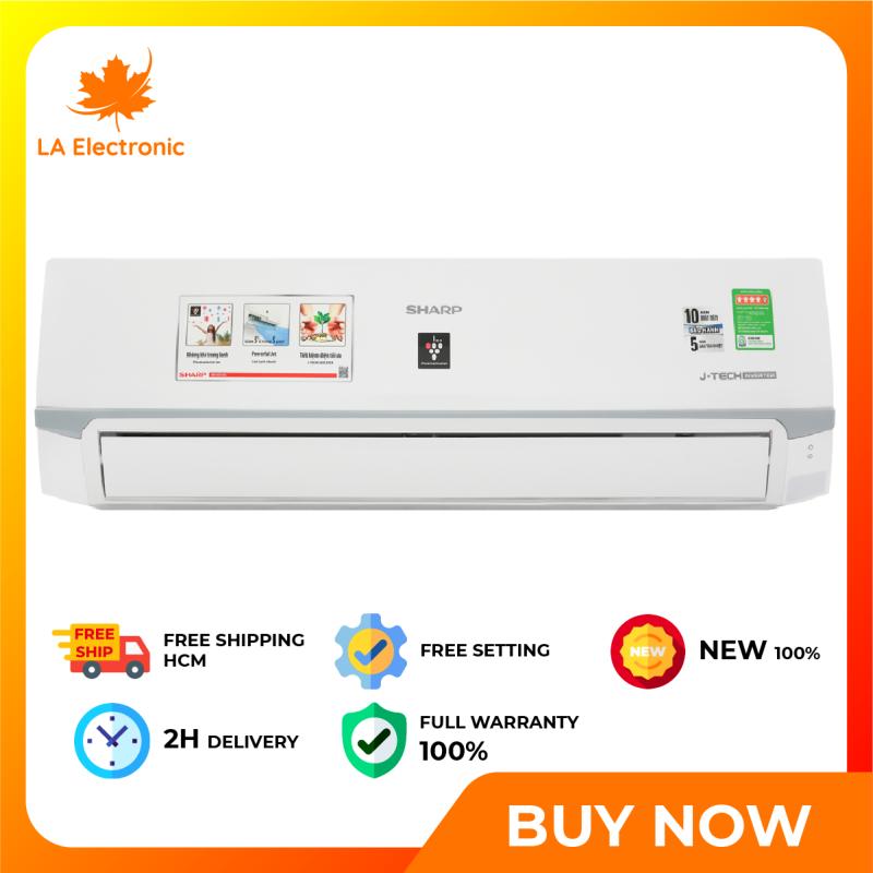 Máy Lạnh - Sharp Inverter 2 HP Air conditioner AH-XP18WMW