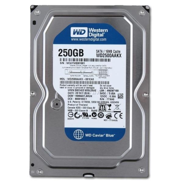 Bảng giá Ổ cứng HDD PC  Western 250G Blue mới BH 12 tháng Phong Vũ