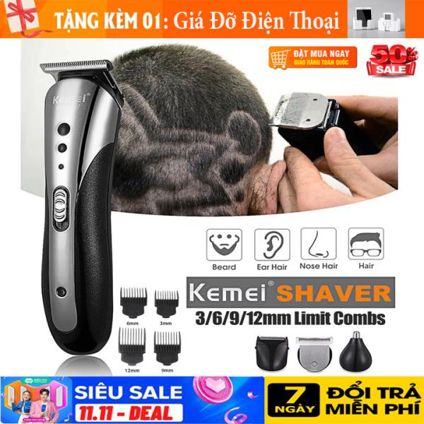 { CÓ QUÀ TẶNG } Tông đơ cắt tóc, tông đơ cắt tóc trẻ em, Máy cắt tóc gia đình, TÔNG ĐƠ cắt tóc đa năng chuyên nghiệp, cạo râu, cắt lông mũi 3in1 kemei 1407 chất lượng an toàn tuyệt đối khi sử dụng giá rẻ