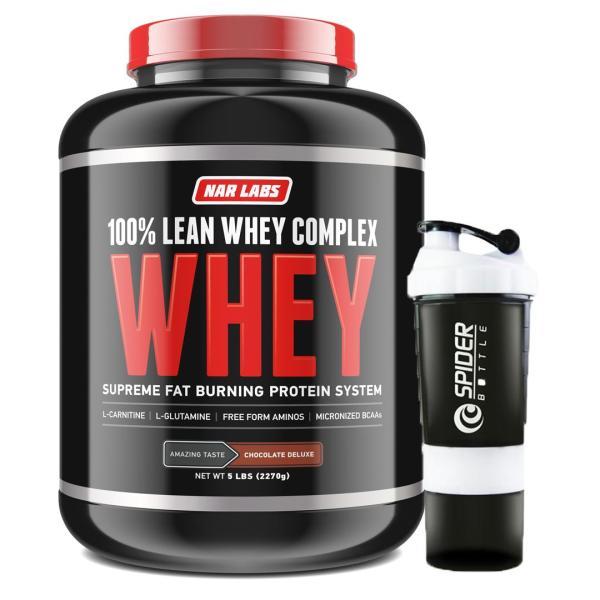 Combo Sữa tăng cơ, giảm mỡ - Lean Whey - Narlabs Nutrition - 2.3kg 75 lần dùng & Bình lắc 700 ml