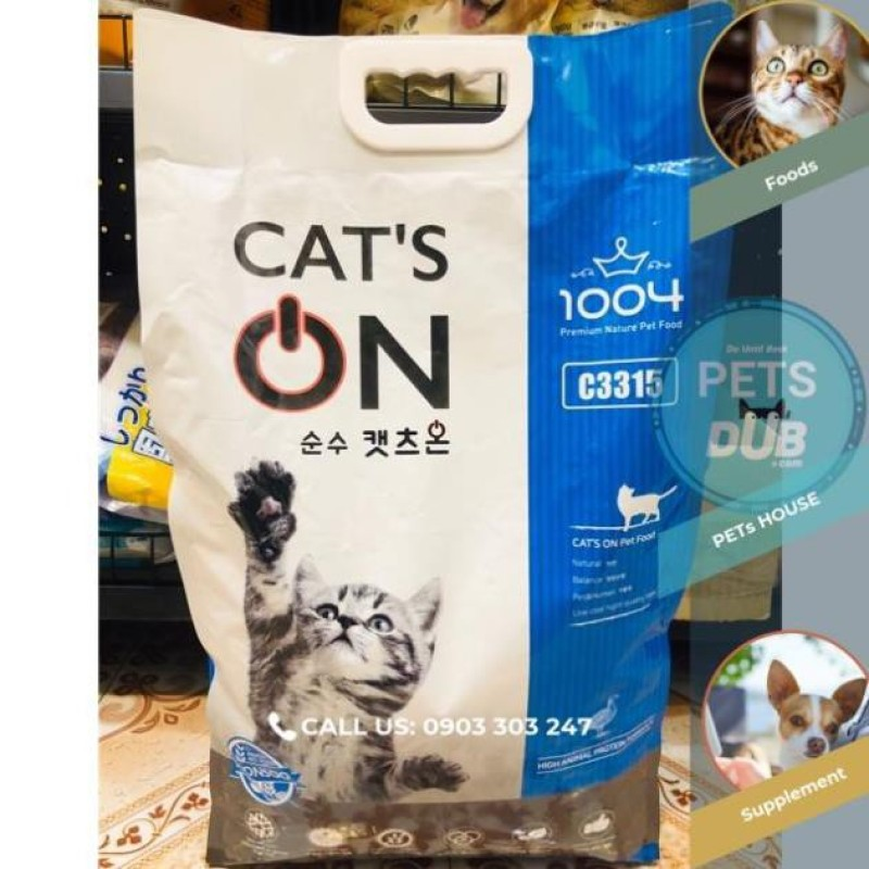 CAT'S ON THỨC ĂN CHO MÈO MỌI LỨA TUỔI BAO: 5KG. (PETs dub)