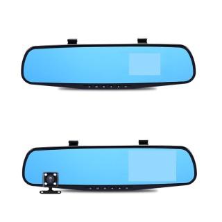Camera hành trình dạng gương chiếu hậu 4.0 (Ghi đơn ), gương chiếu hậu xe hơi thumbnail