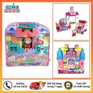 Đồ chơi xếp hình hình khối nhân vật hoạt hình nhiều màu sắc , đồ chơi thông minh cho bé từ 2 tuổi giúp bé phát triển kĩ năng thumbnail