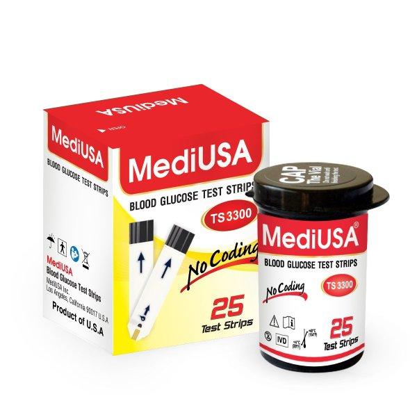 Nơi bán QUE THỬ ĐƯỜNG HUYẾT MEDIUSA TS3300
