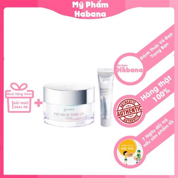 Kem Dưỡng Trắng Da Ốc Sên GOODAL Premium Snail Tone Up Cream (mini - 10ml) giá rẻ