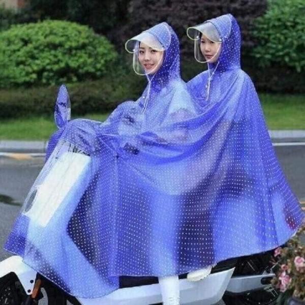 Áo mưa chấm bi họa tiết 2 đầu, cam kết sản phẩm đúng mô tả, chất lượng đảm bảo an toàn đến sức khỏe người sử dụng