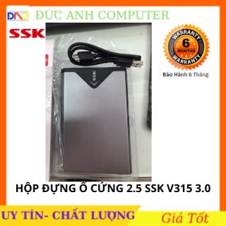 Hộp đựng ổ cứng HDD Box ssk 2.5 Sata She-v315(300)- Hỗ Trợ Lên Đến 5Gb - Chính Hãng 100% Full Box thumbnail