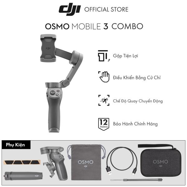 DJI Osmo Mobile 3 Gimbal Chống Rung Điện Thoại   Hàng chính hãng