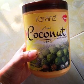 Kem ủ tóc Karanz Coconut 1000ml dưỡng tóc mềm mượt, hết khô xơ thumbnail