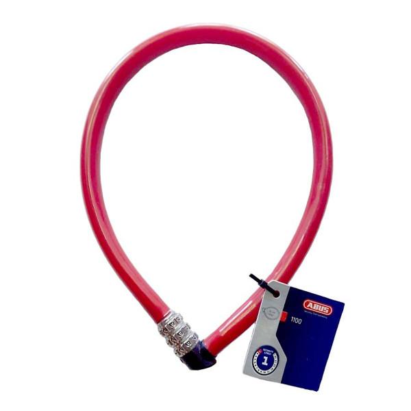 Khóa dây xe đạp xe máy khóa cửa cổng nhà cao cấp (Mật mã 3 số, 55cm, thép không gỉ)