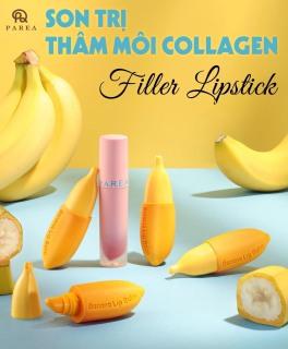 Son chuối khử thâm môi filler collagen lipstick thumbnail