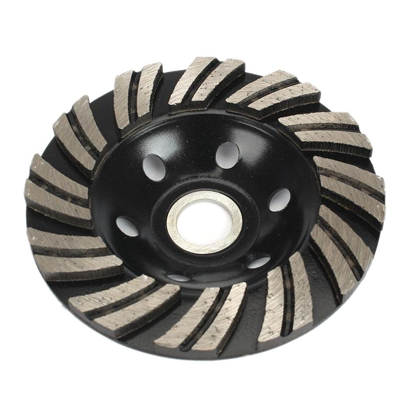 4 inch 100mm Diamond Segment Grinding Cup Wheel Grinder Concrete Granite Stone Cut