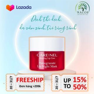 [HCM]Mặt nạ ngủ môi dưỡng ẩm - sáng hồng môi - ngừa lão hóa môi hương lựu Pomegranate Lip Night Mask thumbnail