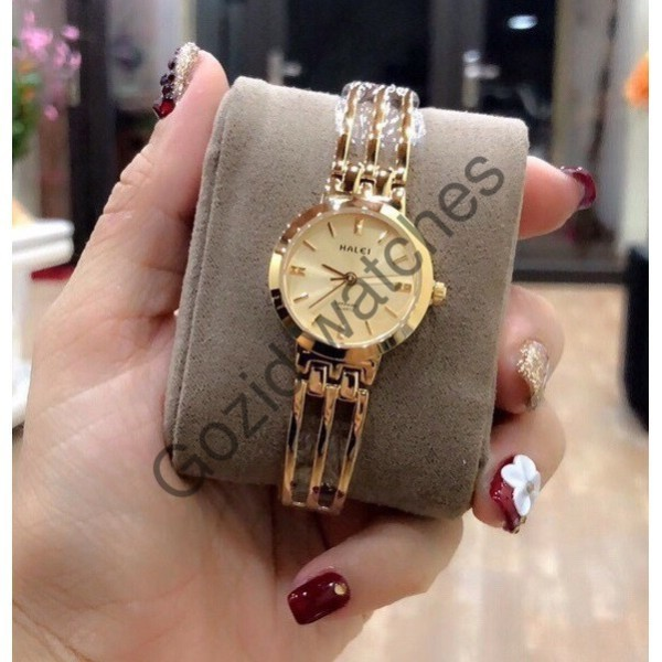Đồng hồ nữ Halei  dây thép không gỉ , sang trọng nữ tính - Gozid.watches
