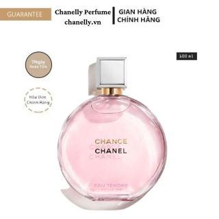 Nước Hoa Cao Cấp FREESHIP Nước Hoa Nữ Chanel Chance Eau Tendre EDP 100ML 24h Thơm Lâu Chính hãng thumbnail