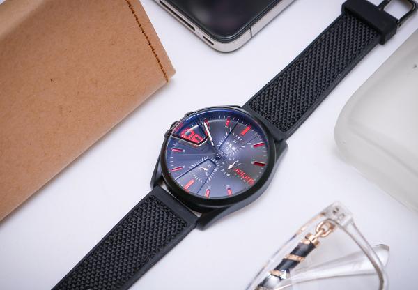 Đồng hồ nam Julius Homme JAH-127 dây vải (Chọn màu)