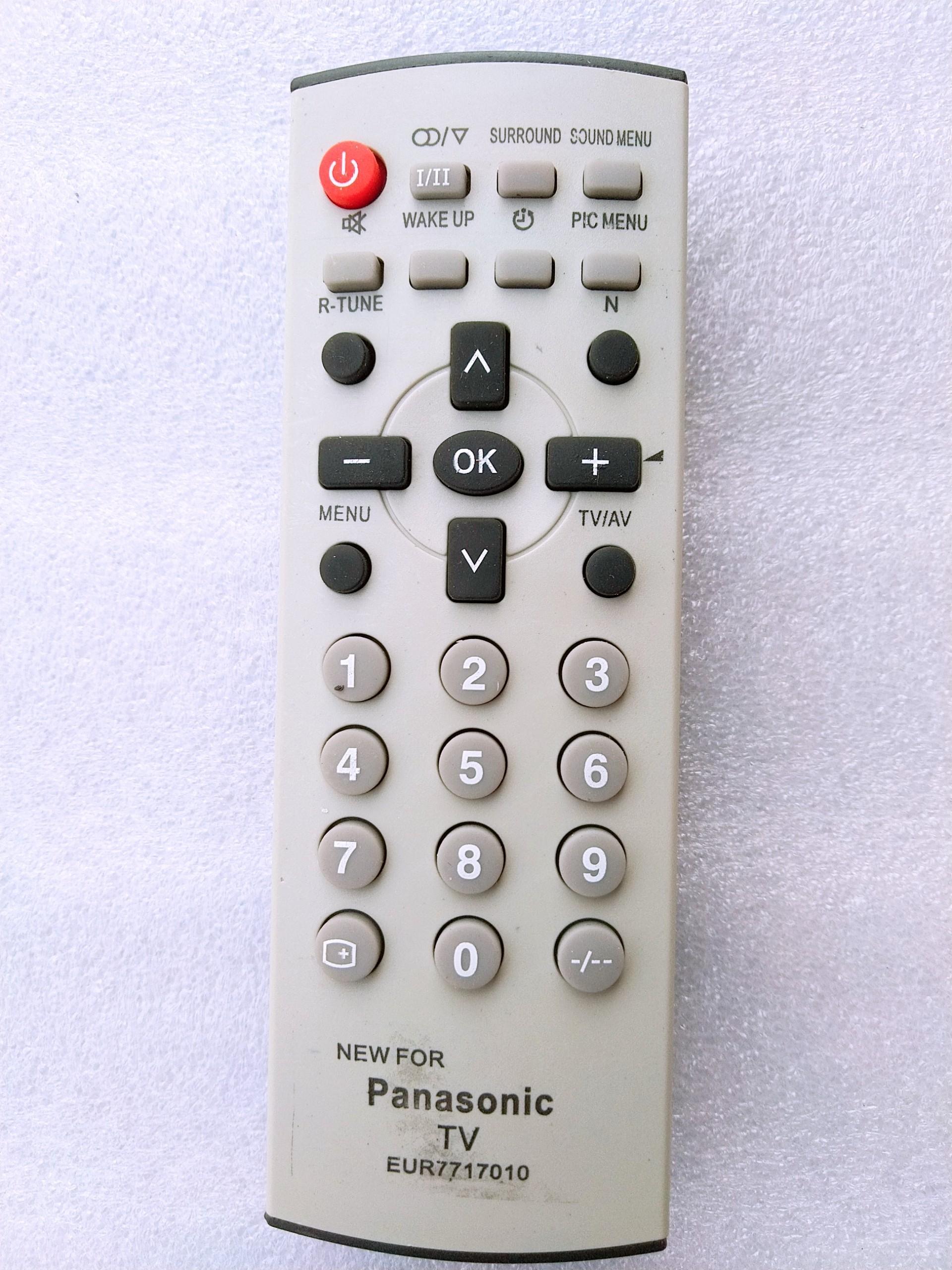 Lazada Giảm Giá Khi Mua REMOTE TV PANASONIC ĐỜI CŨ - ĐIỀU KHIỂN TV PANASONIC DÀY CRT