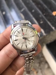 Đồng hồ nữ Solomon cơ automatic 23 Jewels, dây kim loại thumbnail
