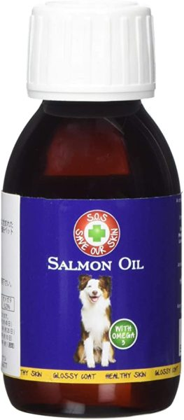 DẦU CÁ FISH 4 DOGS  SALMON OIL FOR DOGS & CATS 100ml