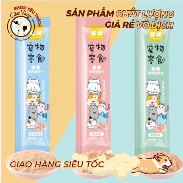 [ Cực Rẻ ] Súp thưởng Sakura ống 15gram Thơm Ngon Không Thể Cưỡng Lại