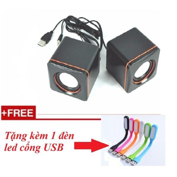 Bảng giá Loa vi tính mini 101C tặng kèm 1 đèn led usb Phong Vũ