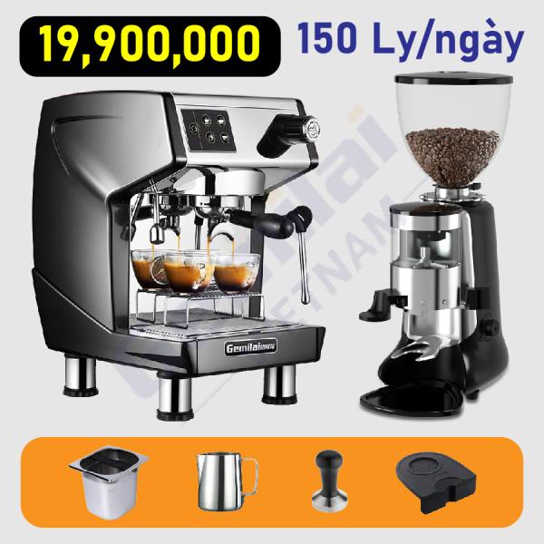 Bảng giá Combo máy pha cafe Gemilai 3200B Điện máy Pico