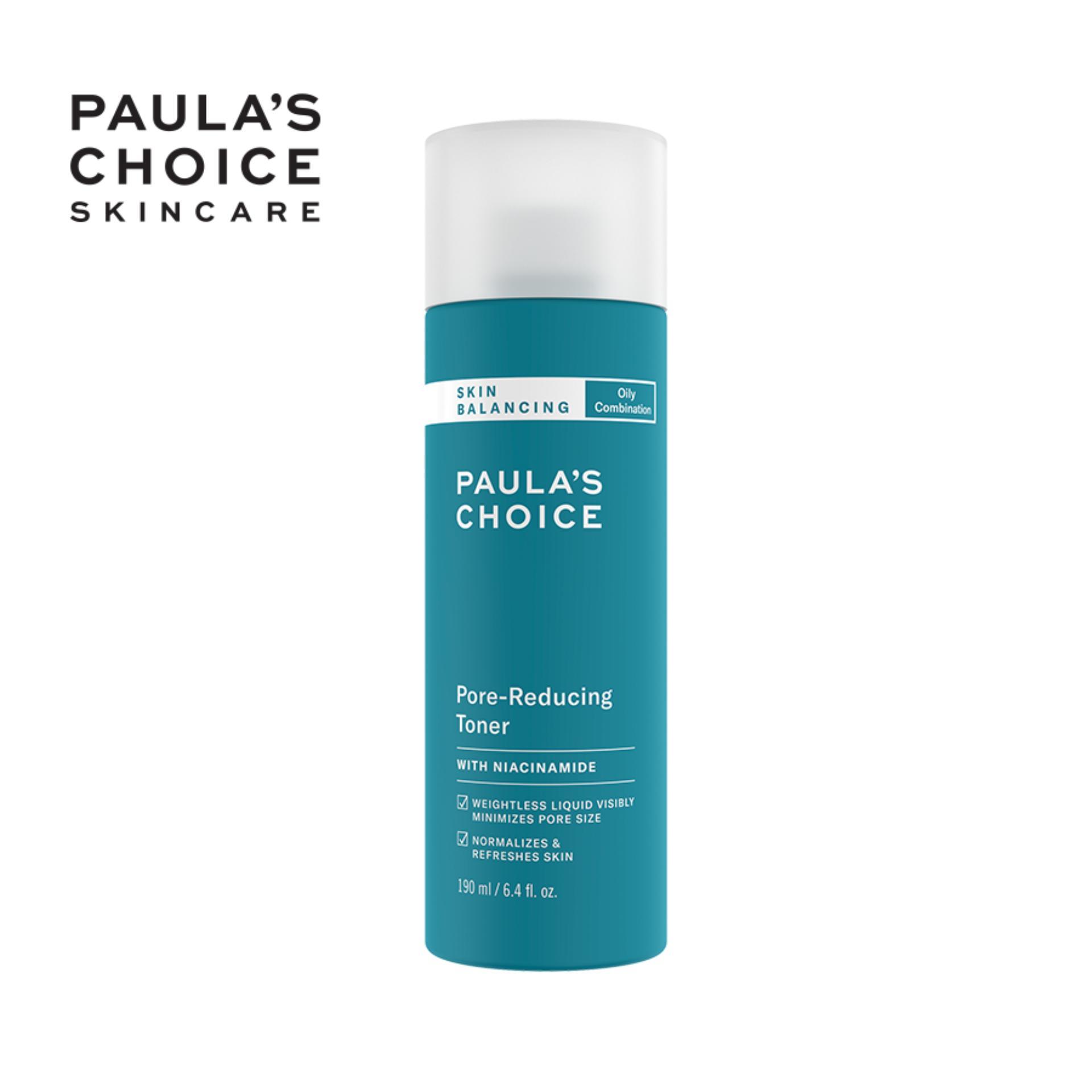 Nước Cân Bằng và Điều Chỉnh Lỗ Chân Lông Paula's Choice Skin Balancing Pore Reducing Toner 190ml 1350 nhập khẩu