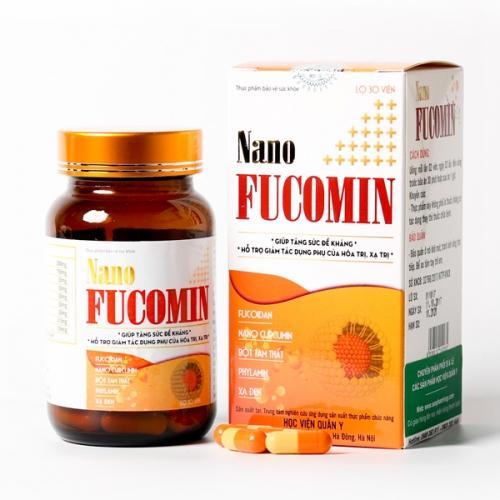 Nano Fucomin Học Viện Quân Y (hộp*30 viên) nhập khẩu