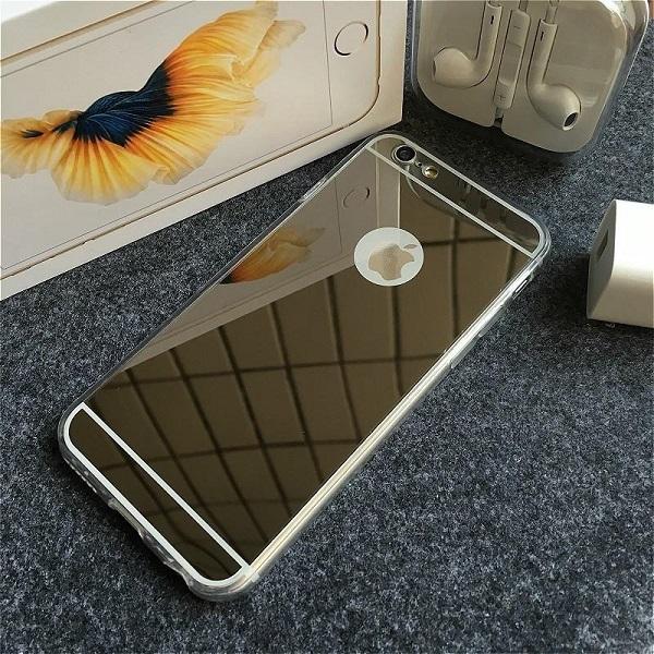 Ốp lưng silicon dẻo tráng gương iPhone 4/4s, 5/5s, 6/6s, 6/ 6s Plus, 7/8, 7/8 Plus