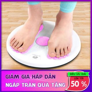 Đĩa xoay eo tập thể dục 360 độ - Bàn xoay tập cơ bụng eo thon giảm cân tại nhà có hạt massage bàn chân , Thư Giãn Cơ Thể thumbnail
