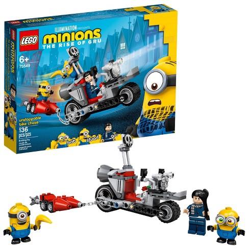 LEGO Minions Đồ Chơi Lắp Ráp Cuộc Truy Đuổi Tốc Độ 75549 Giá Cực Ngầu