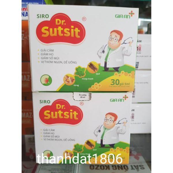 dr sutsit siro 1 hộp 30 gói hỗ trợ hô hấp / dr.sutsit