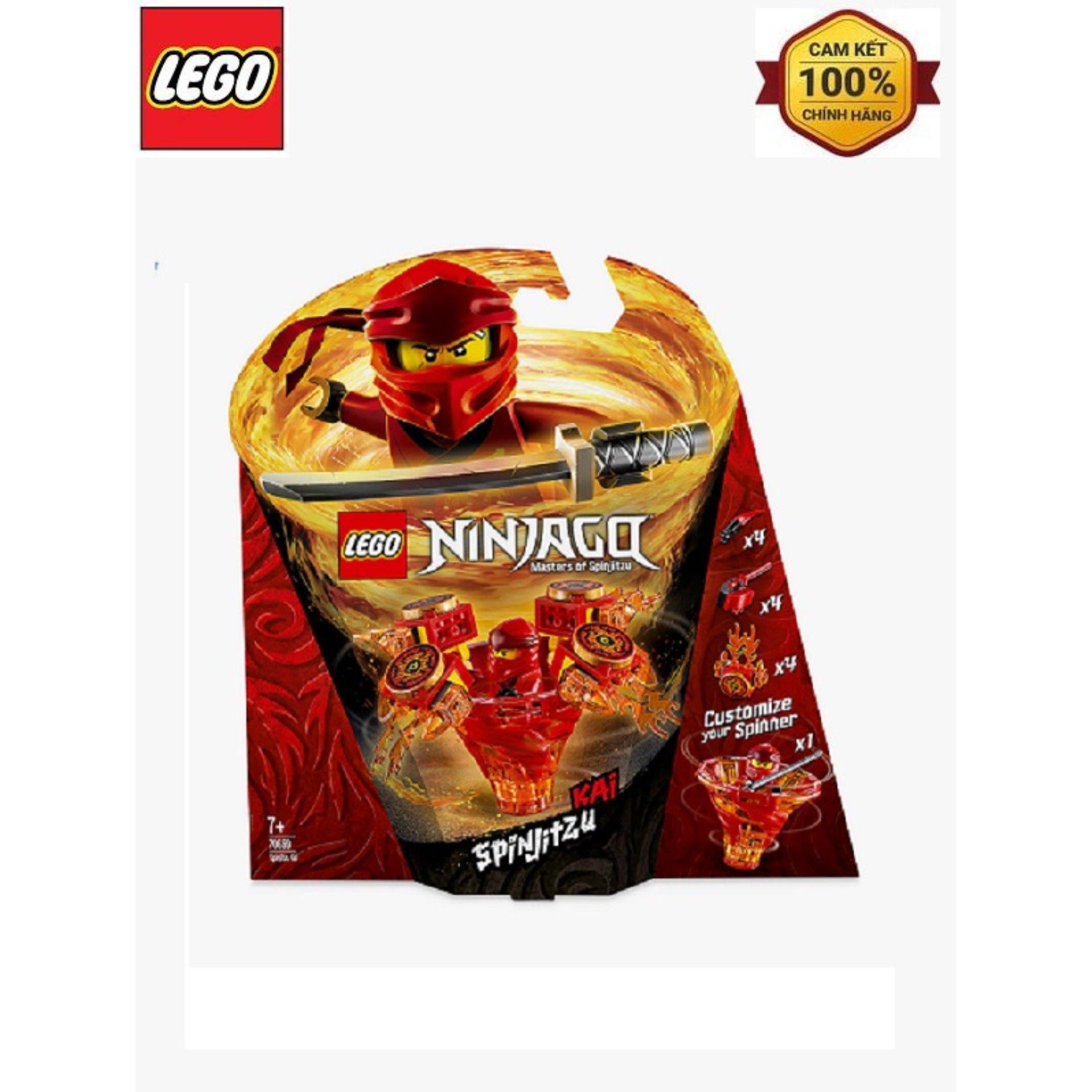 Mã Giảm Giá tại Lazada cho LEGO Ninjago Cao Thủ Spinjitzu Kai 70659 - 97 Chi Tiết