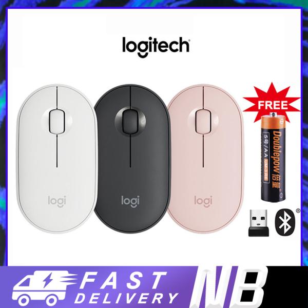 Bảng giá Chuột Logitech Pebble M350 - Kết nối Bluetooth hoặc đầu thu 2.4 GHz, Yên tĩnh [LJP] Phong Vũ